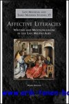 M. Amsler; - Affective Literacies,Writing and Multilingualism in the Late Middle Ages,