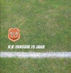 Schreuder, Jeep en Johan  (eindred.) - Voetbal  - 75 jaar VV Irnsum