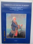 """Vlot, J.D. - """"Ambitie en lust om wel te dienen"""". De maritieme carrière van Luitenant-Admiraal Willem Baron van Wassenaer (1712-1783)"""
