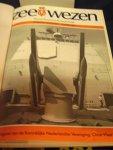 Nimwegen, G.J. van, H.J. Brandenburg, L.L. von Münching (redactie) - Zeewezen , Marine-Koopvaardij-Zeetechniek ; jaargang 73 12 nummers