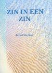 Werner, Janet - Zin in een zin