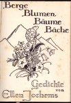 Jochems-Horstmann, Ellen (ds1377) - Berge Blumen Bäume Bäche. Gedichte von Ellen Jochems