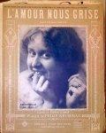 Kruseman, J. Philip: - L`amour nous grise. Valse tzigane-chantée. Piano