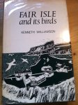 Williamson, Kenneth - Fair Isle and its Birds