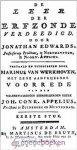 Edwards, D.D. Jonathan - De leer der erfzonde verdedigd *nieuw* nu van € 59,00 voor --- De leer der erfzonde verdeedigd, door Jonathan Edwards, Professor en Predikant, te Northhampton, in Noord-Amerika.