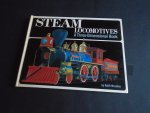Moseley, Keith - Pop Ups. Steam Locomotives. A Three -Dimensional Book. Met 7 Pop-Ups.