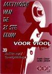 Glaser, Frank, Guido Jansen (ds 1208) - Methode van de 21ste eeuw voor viool deel 3 met CD