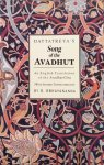 Abhayananda, S. - Dattatreya's Song of the Avadhut; an english translation of the Avadhut Gita (with Sanskrit transliteration)