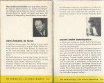 Gardner, Erle Stanley, Maurice Endrèbe & Ton Vervoort - 4 X DETECTIVE POCKET. 1. VERZEKERING DEKT DE SCHADE. 2. HET GEHEIM VAN DE MODERNE MEESTER. 3. ELVIRA BEKLIMT DE TOREN. 4. MOORD ONDER TONEELSPELERS