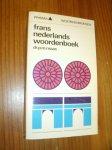 MAAS, P.M., - Frans Nederlands woordenboek.