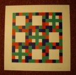 FRITS VANEN (1933). - 'A Comp. of squares IV'