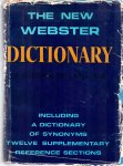 Thatcher, V.S. (ed) (ds1372) - The New Webster Dictionary of The English Language, including a dictionary of synonyms twelve supplementary reference sections