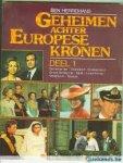 Herremans - Geheimen achter europese kronen / 1 / druk 1