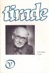 Lieske, Thomas (red.) - Tirade 312 - A. Koolhaas 75 jaar