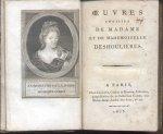 Auteur (onbekend) - Oeuvres choisies de Madame et de Mademoiselle Deshoulieres