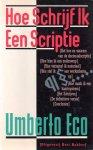 Eco, Umberto - Hoe schrijf ik een scriptie