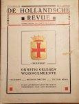 CAMPERT, Jan R.Th. (red.) - Oegstgeest - Gunstig gelegen woongemeente (in De Hollandsche Revue 37ste Jaargang No. 11 1 juni 1932)