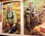 Adams, Nick. - German Infantry in action WWII. Military Photo File. Warmachines No. 16.