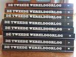 KIN, Bart - DE TWEEDE WERELDOORLOG IN WOORD EN BEELD. Complete set van 8 delen.