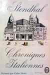 Stendhal - Chroniques Italiennes (Ex.1) (FRANSTALIG)