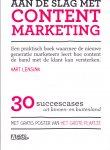 Lensink, Aart (ds1236) - Aan de slag met Content Marketing, 30 succescases uit binnen- en buitenland