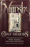 NIJINSKA, Bronislava & NIJINSKA, I. & RAWLINSON, J. & KISSELGOFF, A. - Early Memoirs