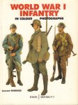 Mirouze, Laurent - World War I Infantry (In Colour Photographs), Europa Militairia No. 3, 66 pag. paperback, gave staat