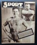 Achiel van den Broeck, Henri Hodister - Sport Revue   no1 eerste nummer 1933