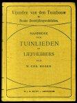 NOSKE, W. Chr. - Vijanden van den tuinbouw en hunne bestrijdingsmiddelen. Handboek voor tuinlieden en liefhebbers (2 dln in 1 bnd). Met 173 teekeningen en photographische opnamen en 20 gekleurde afbeeldingen, naar de natuur geteekend door den schrijver