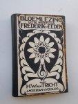 TRICHT, H.W. VAN, - Bloemlezing uit de werken van Frederik van Eeden.