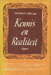 Meyer, Herman - Kennis en Realiteit