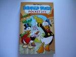 Disney, W. - Donald Duck pocket 211 De jacht op de gouden ananas/ 1ste druk