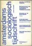 - Amsterdams sociologisch tijdschrift 8-1