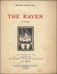 Edgar Allan Poe / Marcelin Huc (Auteur), Jack Roberts (Illustrations) - Raven - le Corbeau avec adaptation en vers de Marcelin Huc / 1922