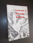 WARRINER, DOREEN (ED.), - Contrasts in emerging societies. Readings in the social and economic history of South-Eastern Europe in the nineteenth century.