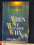 Orgu, Cletus C. - When you wonder why