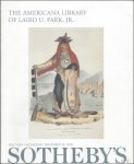 WOLF, Clarence ( intr. ); - THE AMERICANA LIBRARY OF LAIRD U. PARK, JR.,