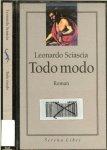 Sciascia, Leonardo. Vertaling uit het Italiaans Jenny Tuin  Gereviseerd door Linda Pennings - Todo modo  ..  Ieder zijn  geestelijke oefening  [Gevaar !!!!!]
