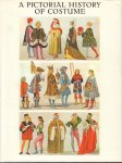 Tilke, M. & W. Bruhn - A Pictorial History of Costume (A survey of costume of all periods and peoplesfrom antiquity to modern times including national costume in Europe and Non-Europe countries), 199 pag. hardcover + stofomslag, goede staat