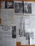 Franssens, Jean-Paul - Aantal (6) knipsels, recensies, interviews 'Een gouden kind'