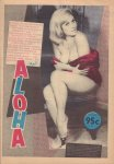 Diverse auteurs - Aloha 1974 nr. 18, 10 januari tot 24 januari, Dutch underground magazine met o.a. COVER NUDE WOMAN, OPIUMWET 1928, goede staat