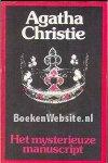 Christie, Agatha - Het mysterieuze manuscript