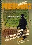 Stede, M. - BASIC programma's voor tekstverwerking en tekstanalyse