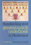 OKKEMA, J.C. - Handleiding voor genealogisch onderzoek in Nederland.