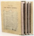 Yadin, Yigael. - The Temple Scroll [Hebrew edition] (4 volumes in slipcase).