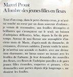 Proust, Marcel - A l'ombre des jeunes filles en fleurs (Ex.1) (FRANSTALIG)