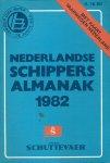 Diverse auteurs - NEDERLANDSE SCHIPPERSALMANAK 1982