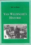 B.E. Boer, - Wons - Van Wildinghe's historie