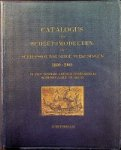 Voorbeijtel Cannenburg, W - Catalogus der Scheepsmodellen en Scheepsbouwkundige Teekeningen 1600-1900