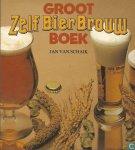 - Groot ZELF BIER BROUW BOEK - Jan van Schank - uitg. Luitingh, 118 blz.